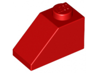 LEGO Roof tile 45 x 2 x 1, red
