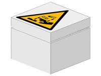 LEGO BHV Sign [warning corrosive]
