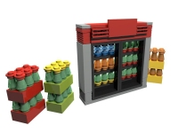 LEGO Drinks - Soda Vending Machine, large