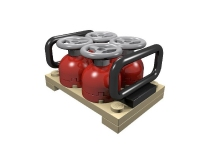 LEGO ERO Cargo Load: Pallet with Gas Cylinders
