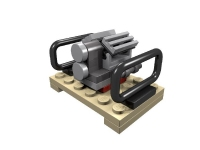 LEGO ERO Cargo Load: Pallet with Motor