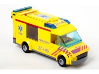 LEGO Ambulance NL-striping