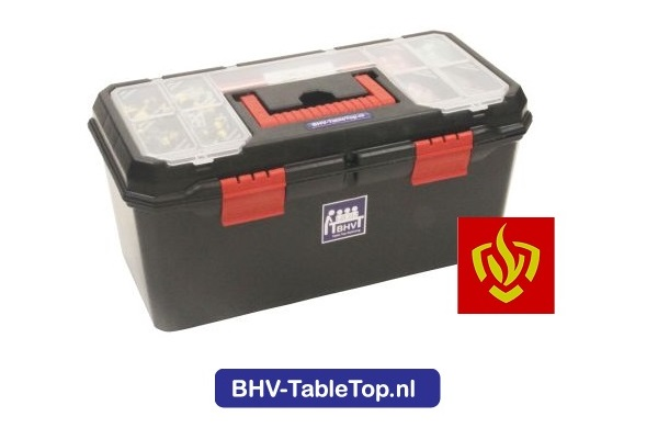 New look of our new LEGO ERT Table Top suitcases