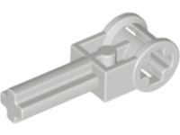 LEGO Technic Pole Reverser Handle, lightgray