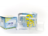FaBiOX - Trans-Clear Minifig Display Case 6x6 (box of 4)
