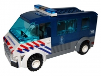 LEGO Marechaussee bus (KMAR) NL-striping