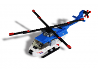 LEGO Politie Helicopter NL-striping
