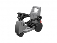 LEGO BHV Mobility Scooter, light gray