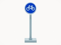 LEGO Roadsign - Bycicle lane