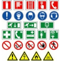 ERO Squared Pictogram signs