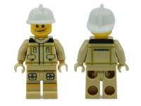 LEGO MiniFig Fireman - new uniform (NL)