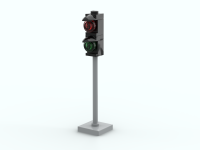 LEGO Traffic: trafficlight